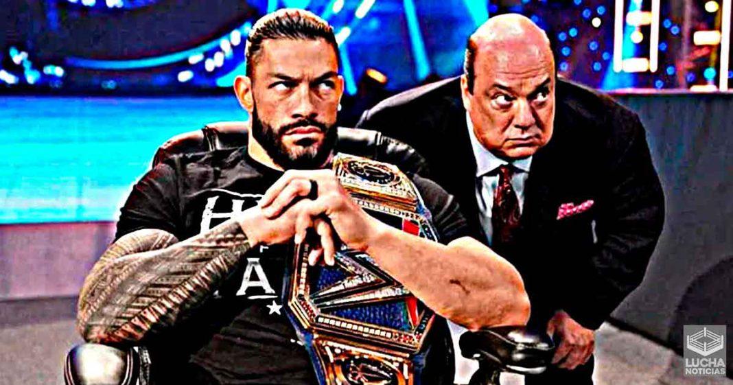 Roman Reigns no perderá ninguna lucha este año