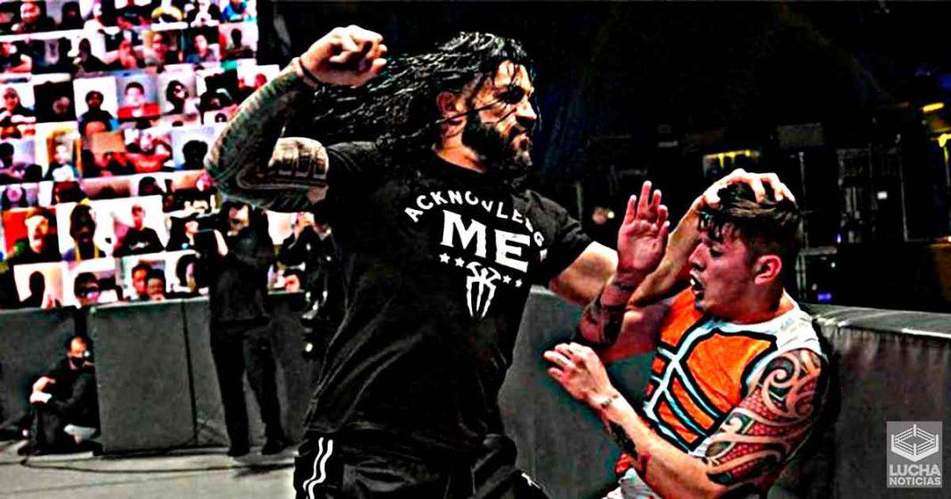 Roman Reigns reacciona a como destruyó a Dominik y Rey Mysterio