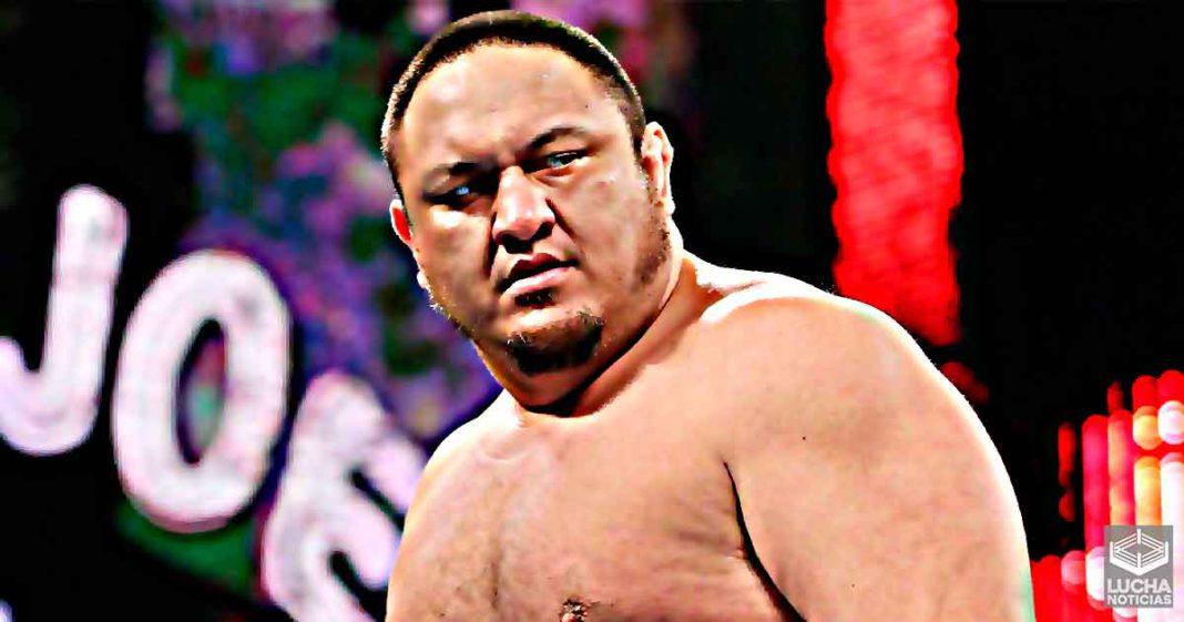 Samoa Joe fue visto en el WWE Performance Center esta semana