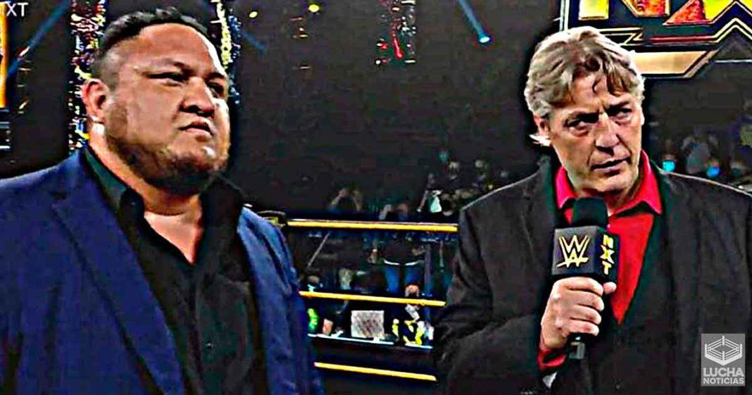 Samoa Joe regresa a WWE NXT con un cargo especial