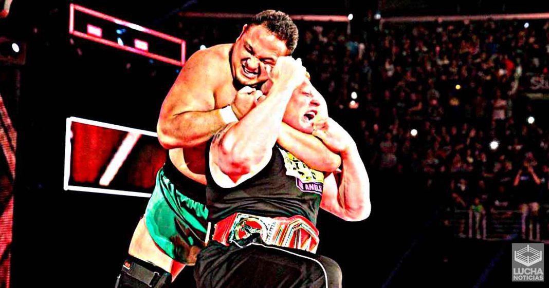Samoa Joe rompe el silencio y habla de como es trabajar con Brock Lesnar