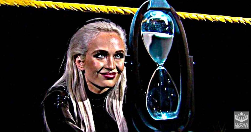 Scarlett lucharía pronto en el elenco principal de la WWE