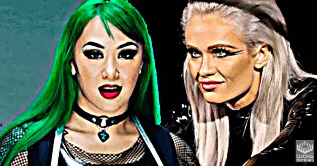 Scarlett y Shotzi BlackHeart hacen lucha de prueba antes de SmackDown