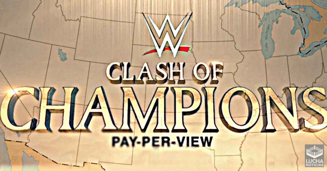 Se revela la sede de WWE Clash Of Champions 2021