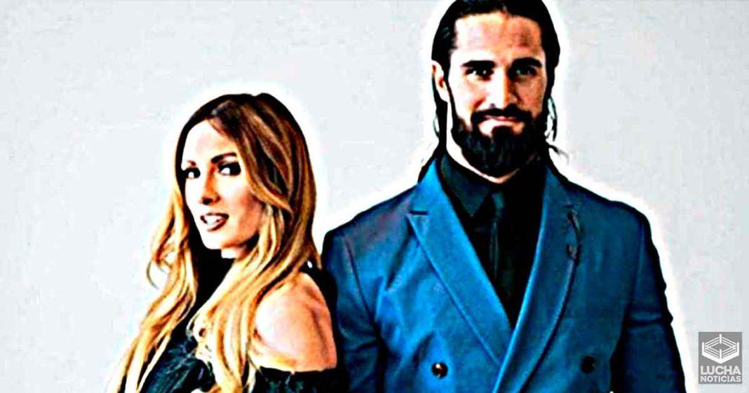 Seth Rollins y Becky Lynch por fin se han casado