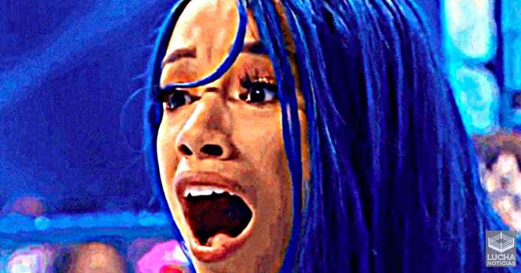Shasha Banks duramente critica por los fans por ser anti vacunas