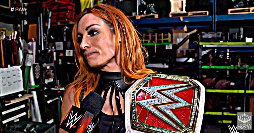 Shayna Baszler frustrada con su lucha contra Becky en WrestleMania 36