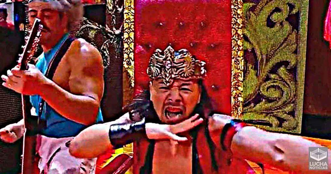 Shinsuke Nakamura es ahora el único y verdadero Rey de WWE