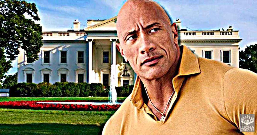 The Rock dice que no tiene aspiraciones políticas