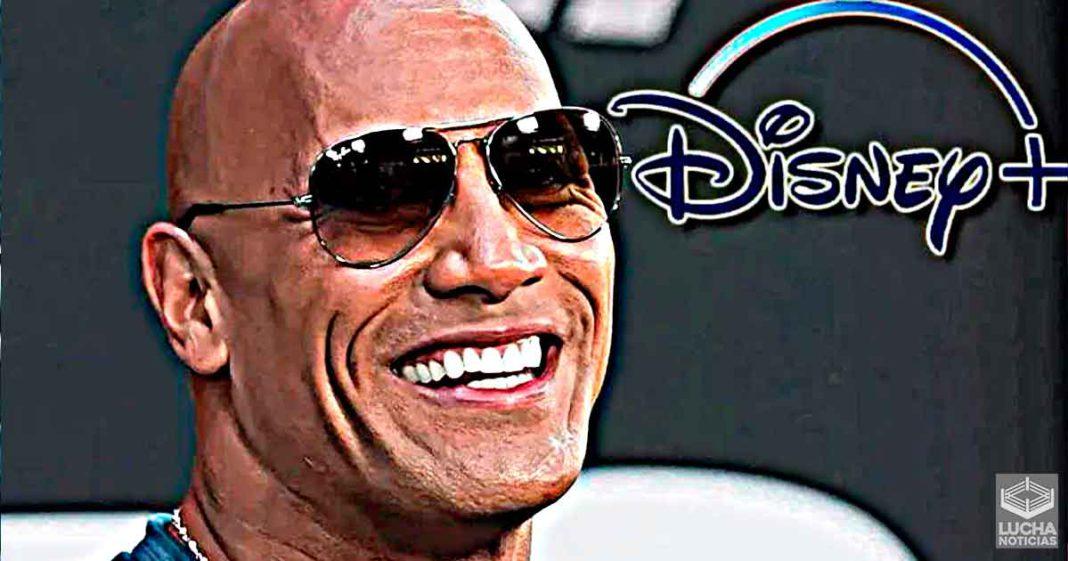 The Rock producirá una seríe en Disney Plus