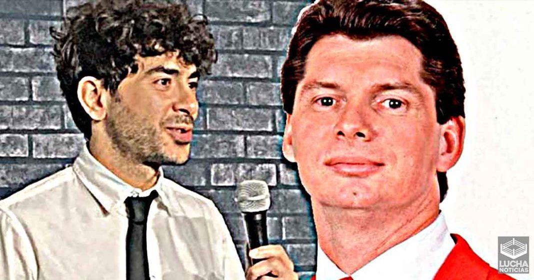 Tony Khan es comparado con un joven Vince McMahon