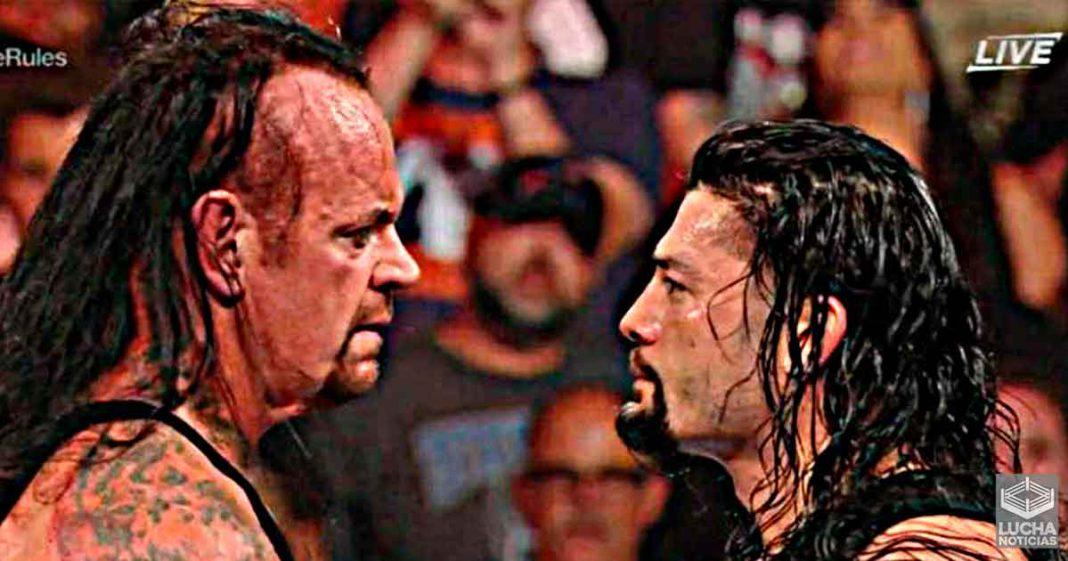 Undertaker dice que una rivalidad con Roman Reigns Heel sería interesante