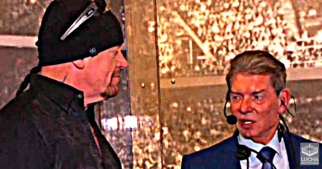 Undertaker se negó a perder contra actual empleado de WWE