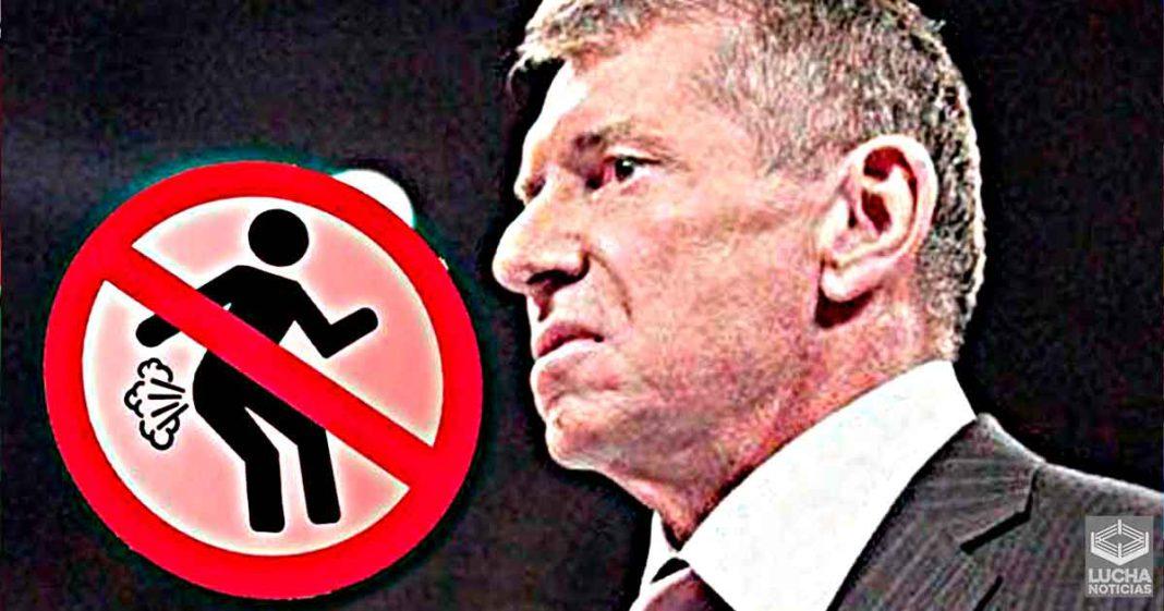 Vince McMahon multó a superestrella por tirarse un pedo accidental