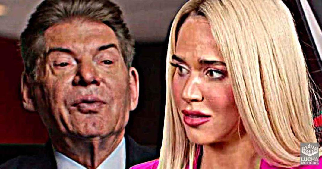 Vince McMahon prometió a Lana tener más cosas para ella antes de despedirla