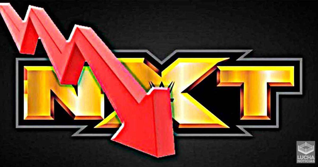WWE NXT baja peligrosamente sus ratings esta semana