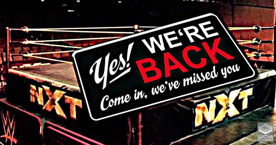 WWE NXT planea regresar a los house shows en vivo