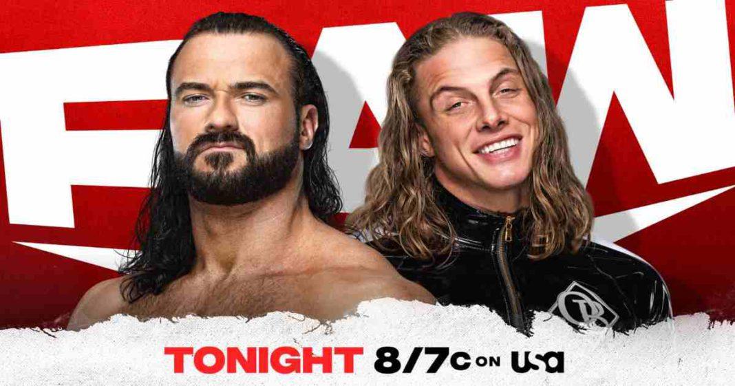 WWE RAW del 21 de junio del 2021. Cobertura y resultados en vivo