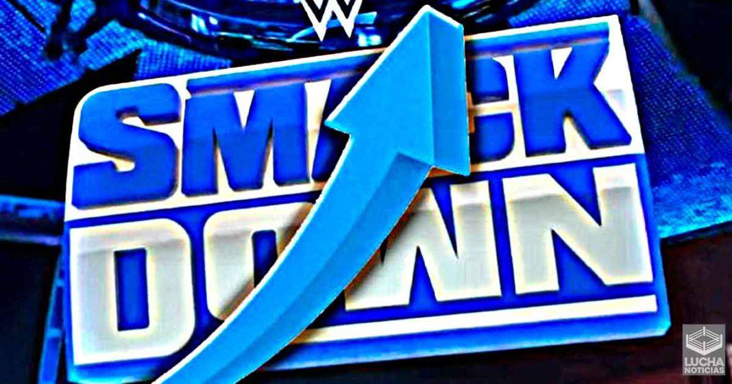 WWE SmackDown logra aumentar sus ratings esta semana