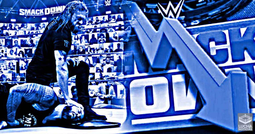 WWE SmackDown no tiene buenos ratings a pesar del regreso de Edge