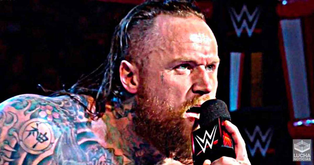 WWE dijo a sus escritores que dejarán de lanzar ideas para Aleister Black