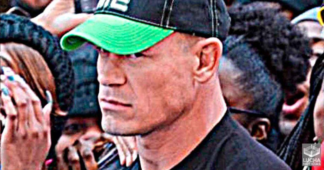 WWE está preparando a John Cena para que regrese como Heel