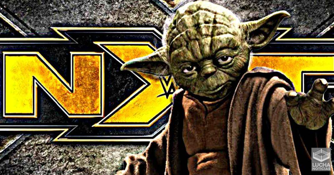 WWE está prepranado un personaje como Yoda en NXT