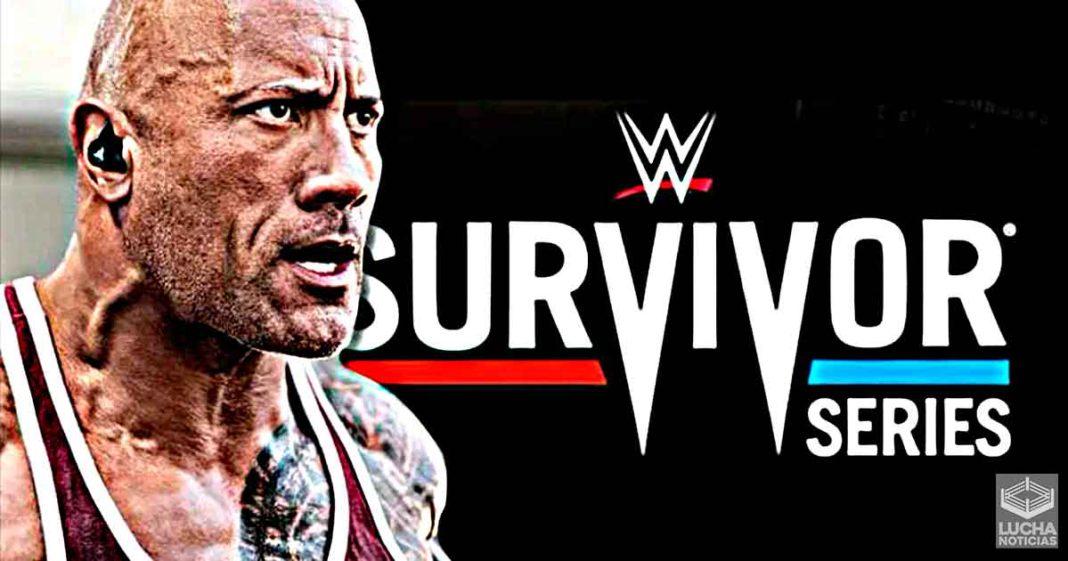 WWE planea un regreso de The Rock en Survivor Series 2021