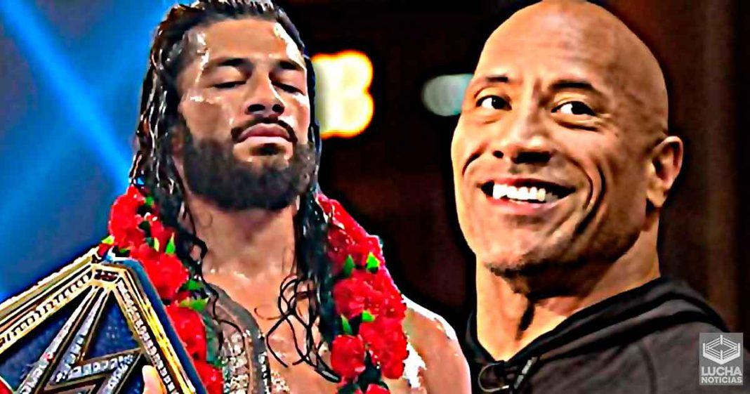 WWE sigue trabajando en la lucha de Roman Reigns vs The Rock