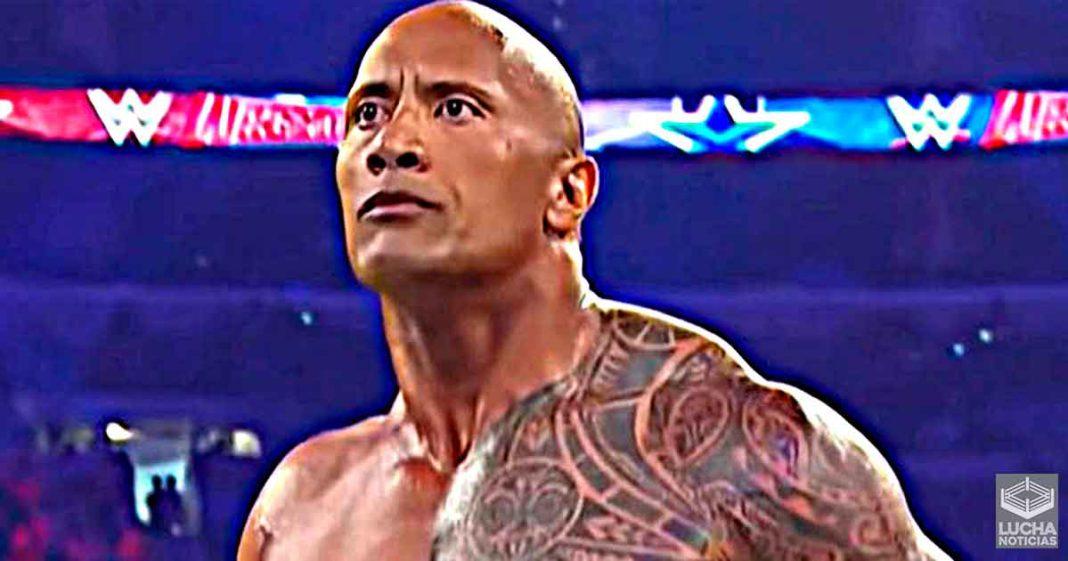 WWE tiene la esparanza de que The Rock luche este año