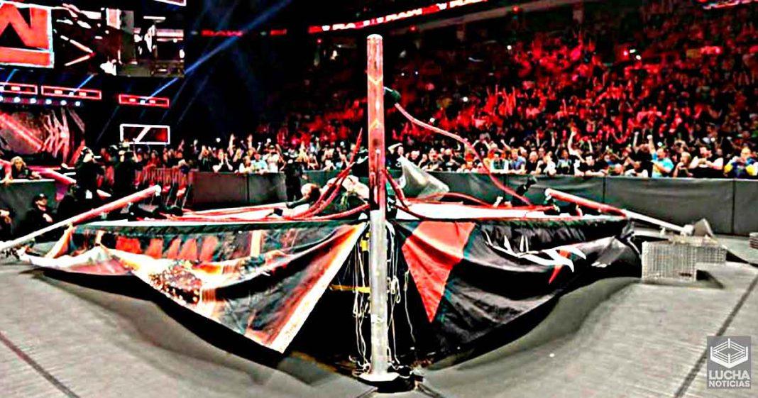 5 veces que superestrellas de WWE rompieron el ring