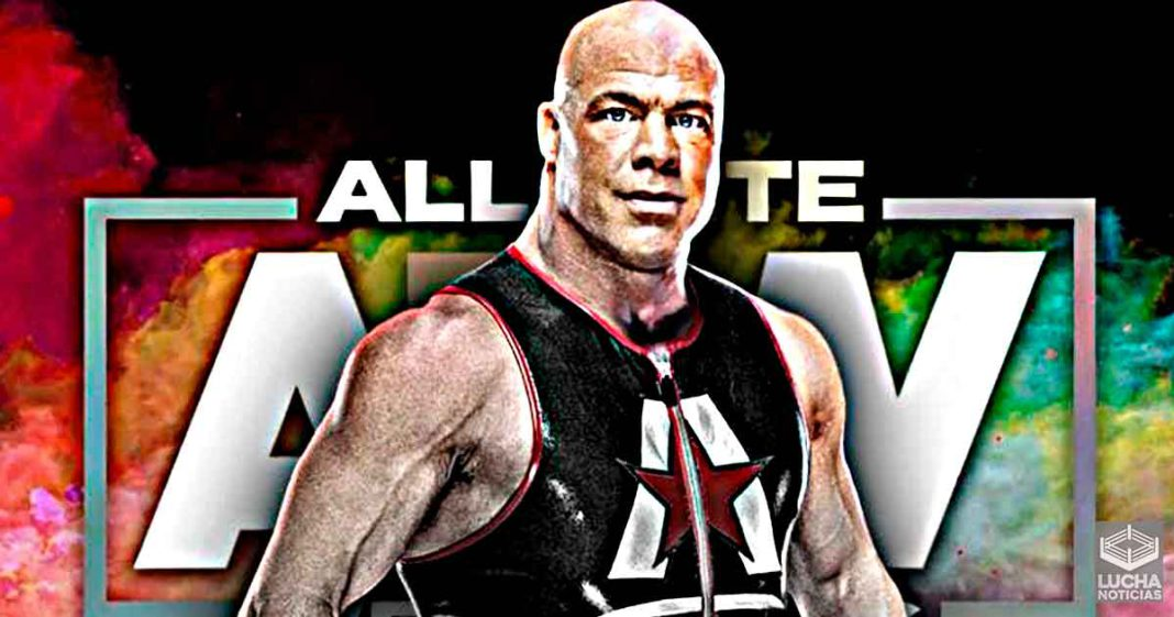 AEW ofrecío contrato a la leyenda Kurt Angle