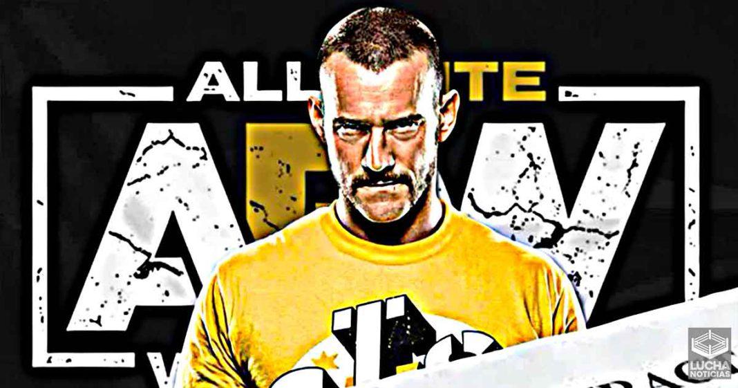 AEW tiene mucha prisa en firmar a CM Punk