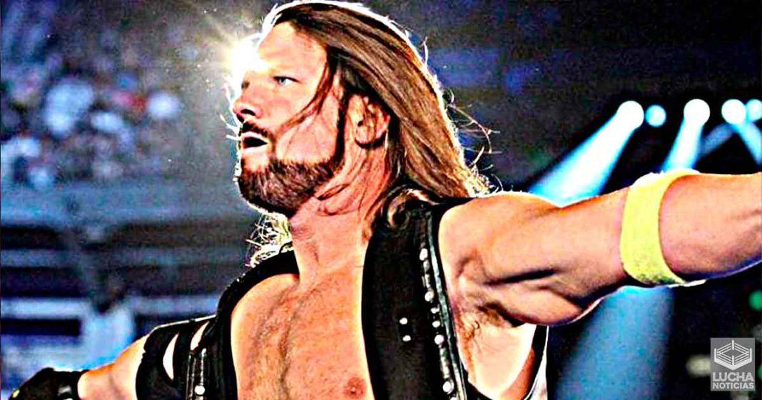 AJ Styles molesto por el trato que recibe en WWE RAW