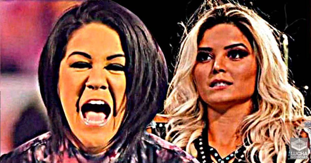 Bayley le gritó en la cara durante a Tay Conti durante su tryout en WWE