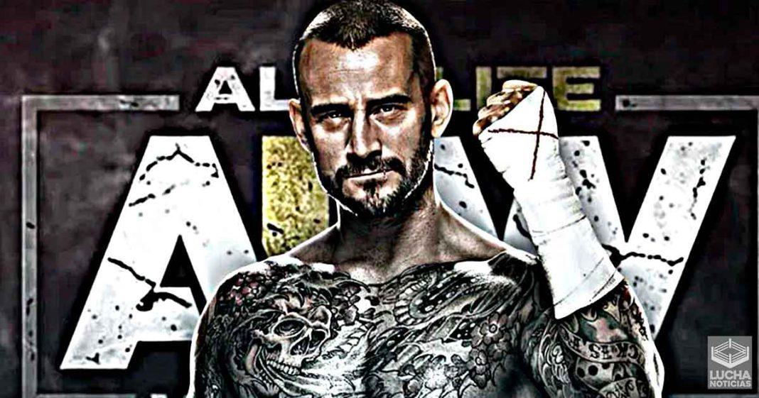 CM Punk firmó con AEW esta mañana