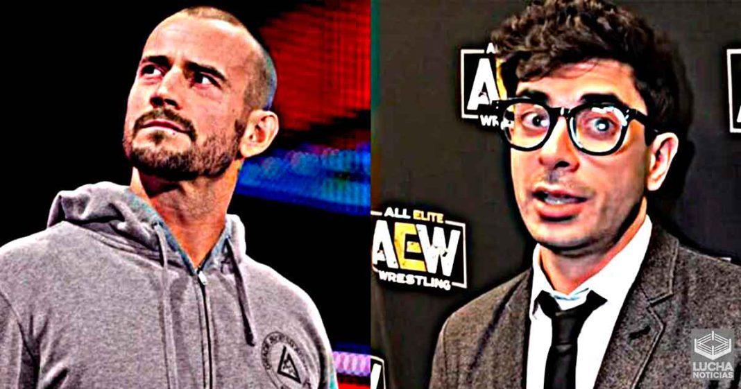 CM Punk se encuentra en pláticas con AEW para volver a luchar