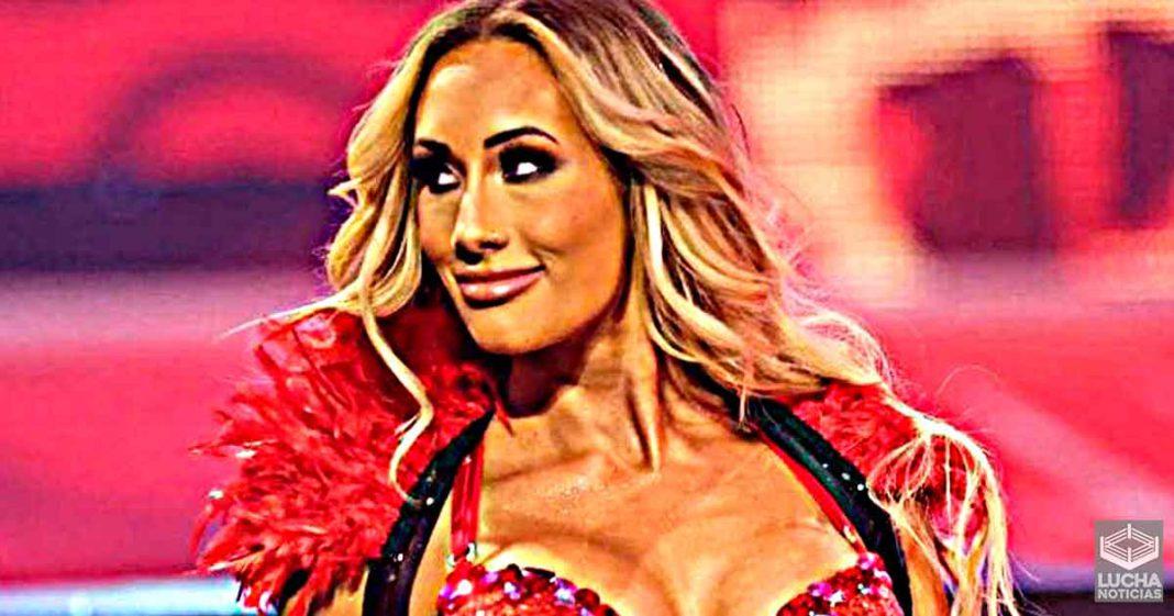 Carmella es muy querida por los altos mandos de la WWE