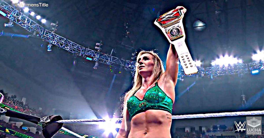 Charlotte Flair es la nueva campeona femenil de WWE RAW