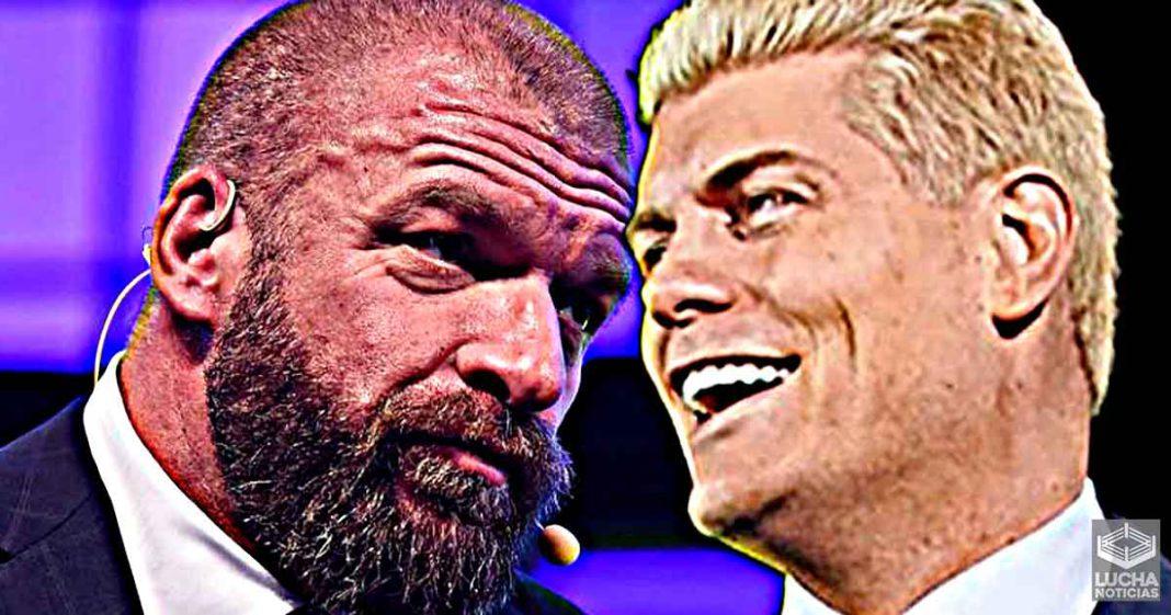 Cody Rhodes dice que Triple H es su luchador favorito