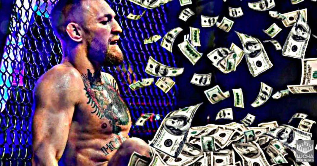 Conor McGregor ganó 24 millones de dólares con su derrota en UFC 264