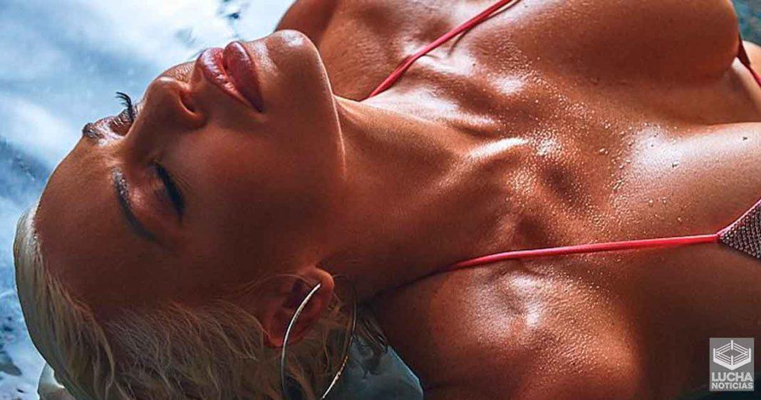 Dana Brooke sube candente foto en bikini desde Miami