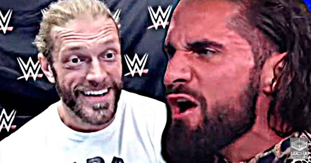 Edge dice que Seth Rollins necesita su biberón