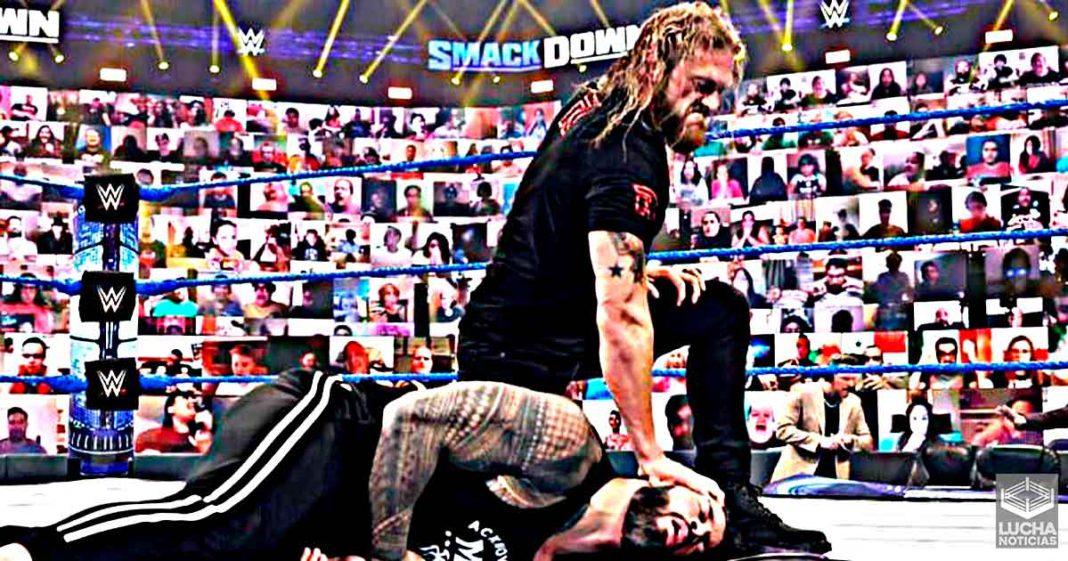 Edge rompe el personaje y manda mensaje sincero a Roman Reigns