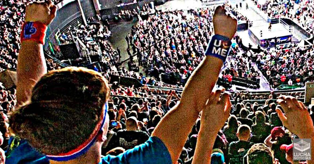 Empleados de WWE entusiasmados por el regreso de los fans en vivo