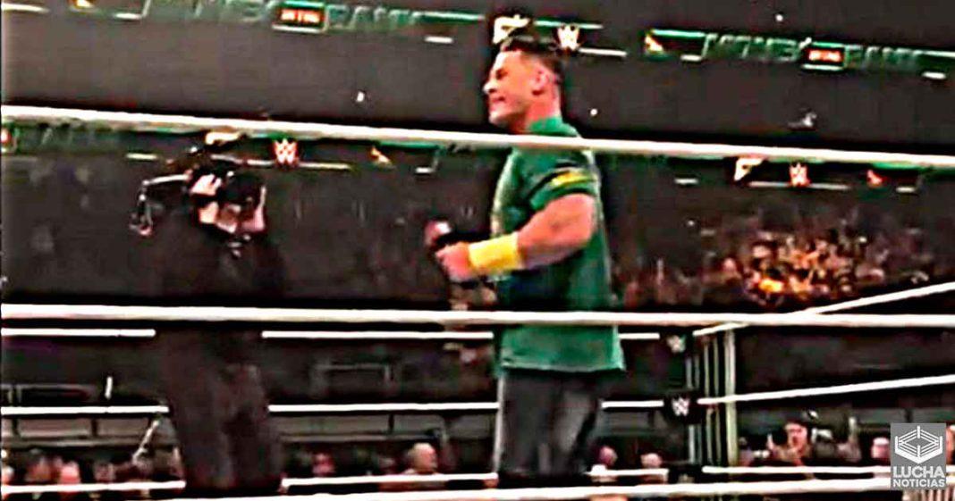 Esto fue lo que hizo John Cena luego que terminó Money In The Bank