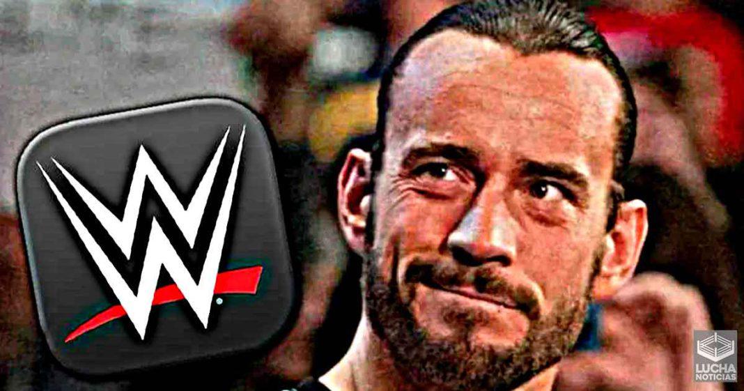 Fans se vuelven locos al descubrir que CM Punk tiene instalada la app de WWE