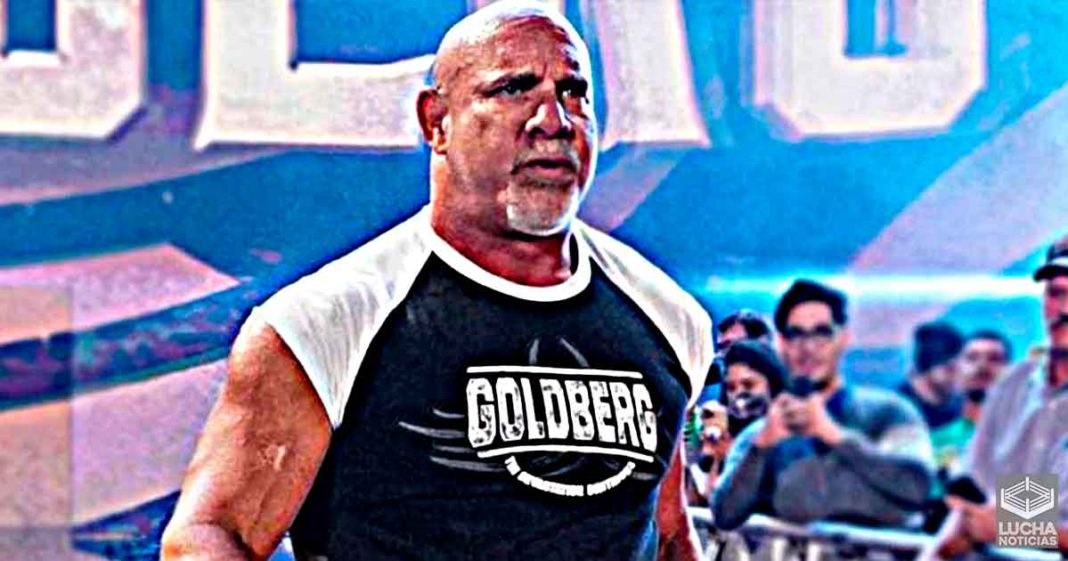 Goldberg revela cuando WWE le aviso de su lucha contra Bobby Lashley
