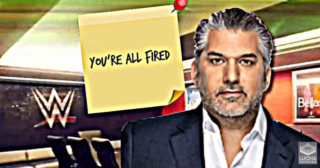 Internamente en WWE se cree que se necesitan más despidos