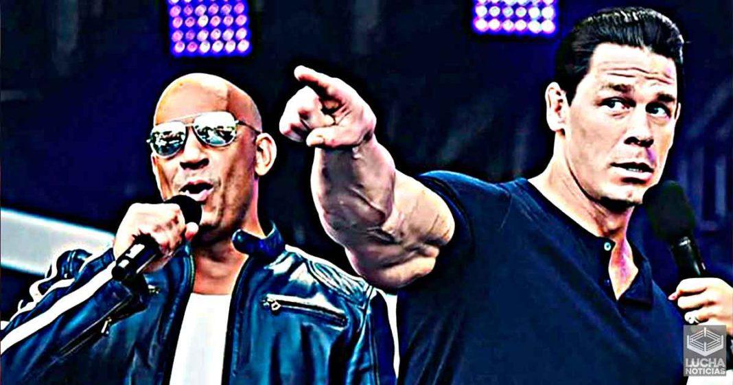 John Cena dice que Vin Diesel podría ser campeón de la WWE
